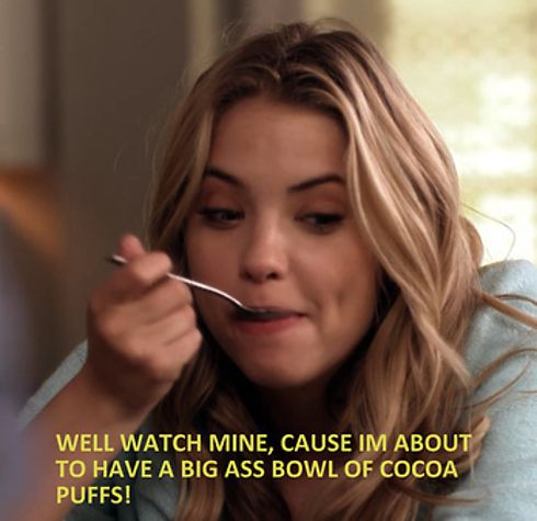 Hanna gives no fucks. | Definitive Proof Hanna Marin Is The Best Pretty Little Liar