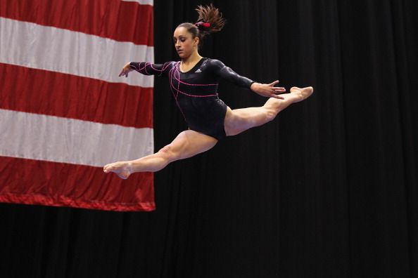 Gymnast: Jordyn Wieber: Jordyn Wieber at 2012 US nationals