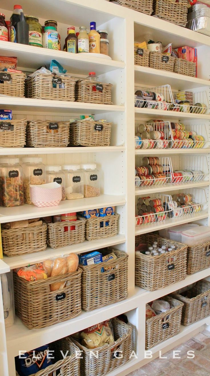 organizing the kitchen pantry best 20 food storage rooms ideas on 3802