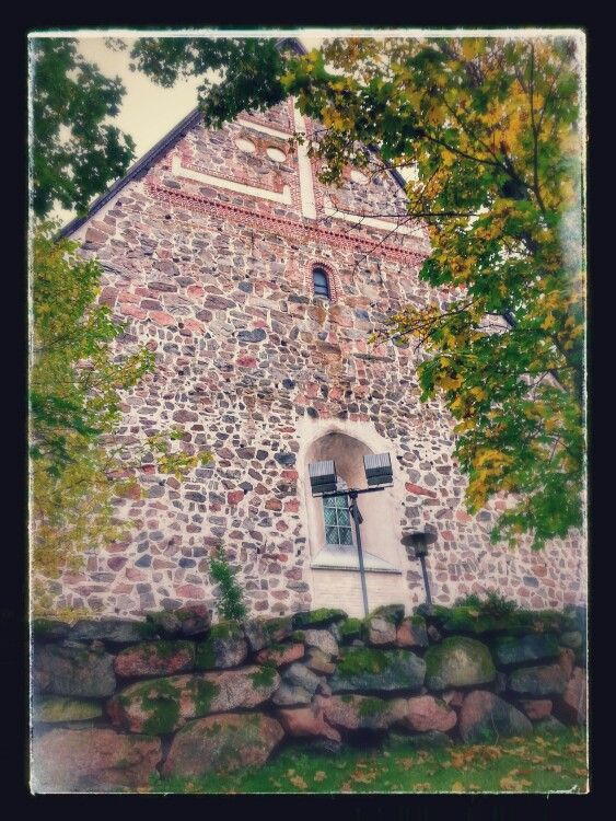 The church of St Lawrence Lohja Picture : Jaana Perheentupa