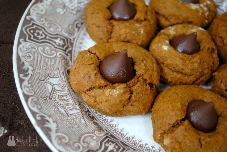 Recipe: Pumpkin Gingerbread Thumbprint Cookies by Double the Fun ...