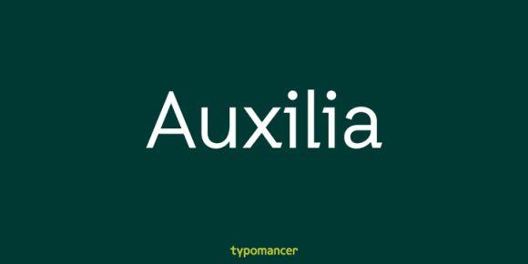 Font dňa – Auxilia   https://detepe.sk/font-dna-auxilia?utm_content=buffere733d&utm_medium=social&utm_source=pinterest.com&utm_campaign=buffer