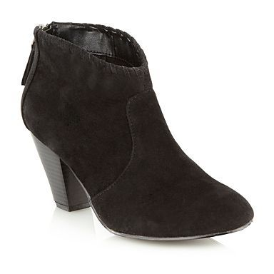 We love these cute Rocha.John Rocha black ankle boots, perfect for festival fever.