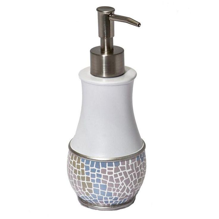 Дозатор для жидкого мыла Mosaic, полирезина