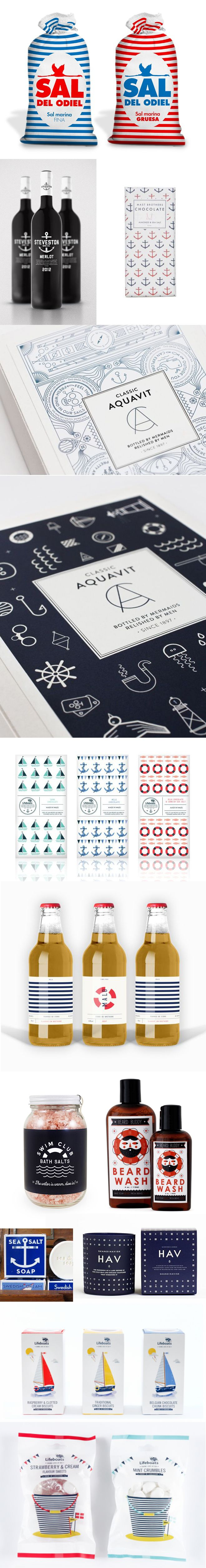 Marine Sailor Packaging Förpackad -Blogg om Förpackningsdesign, Förpackningar, Grafisk Design - CAP&Design