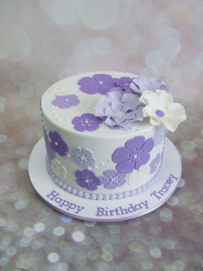 The Puple flower cake!