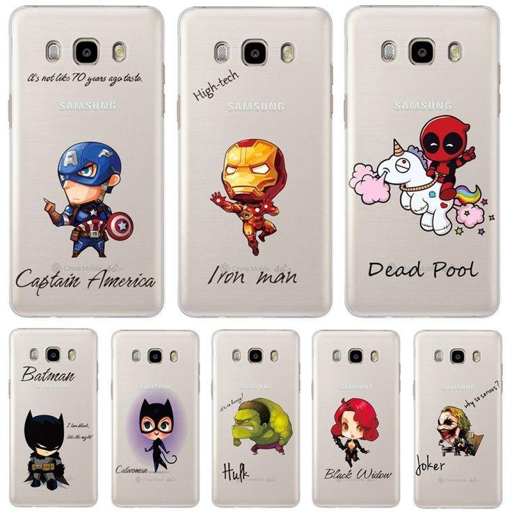 Marvel Heroes Handy-Schutzhülle für Samsung Galaxy S8, S6 und S7 ...