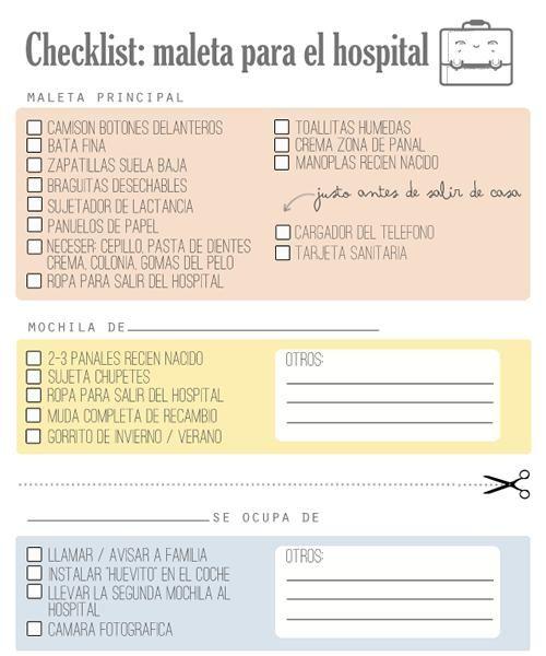 Checklist, la lista para el hospital