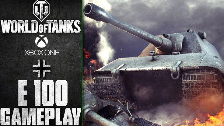 World of Tanks Xbox One: E 100 | Gameplay
