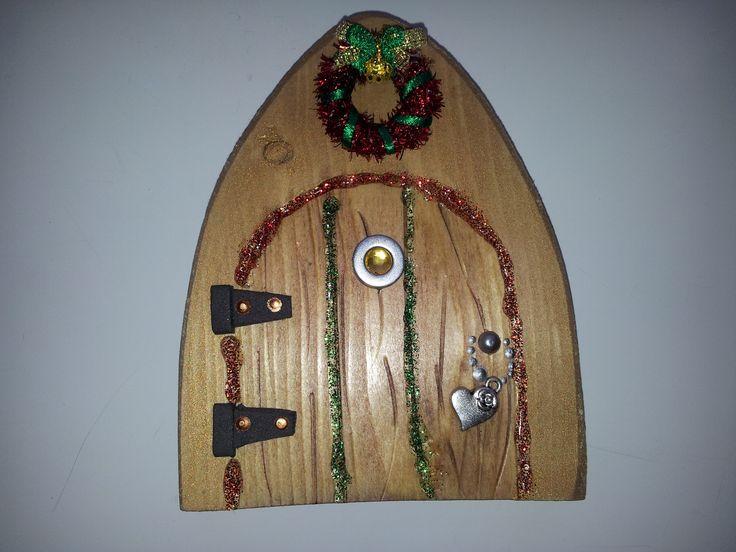 xmas fairy door  https://www.facebook.com/pages/Fairy-Doors/521697827917316
