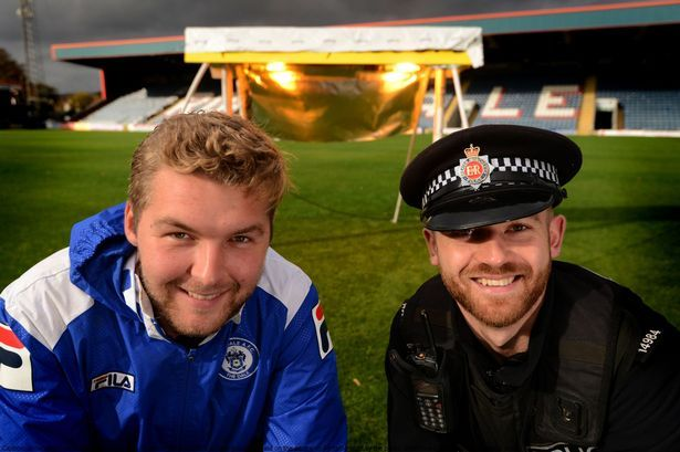 Rochdale AFC growing grass thanks to lighting equipment from cannabis farms - Mirror Online