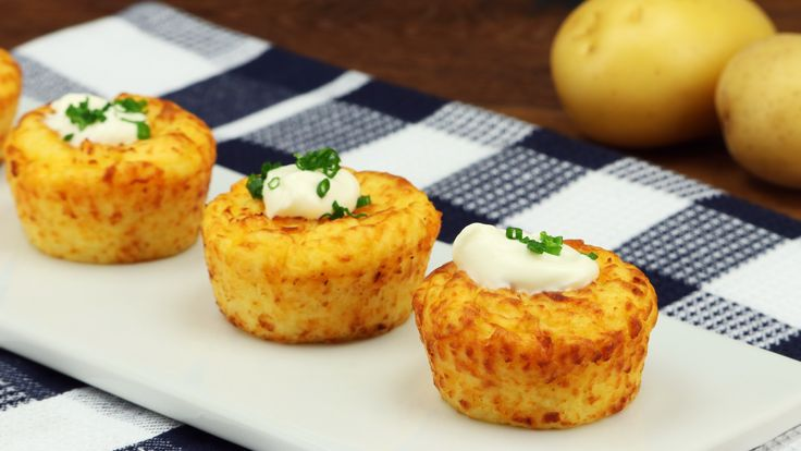 Kartoffelmuffins