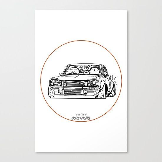 Crazy Car Art 0002 - $85