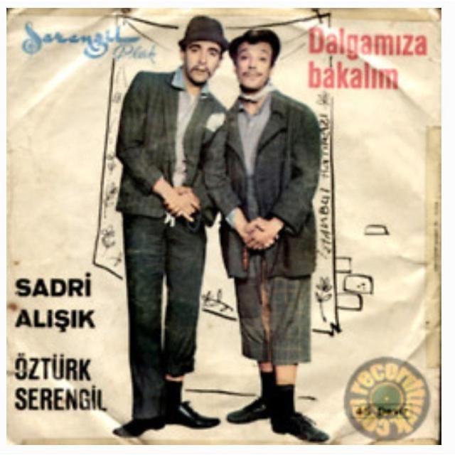 ''Dalgamıza Bakalım'' (1964)Öztürk Serengil - Sadri Alışık  #istanlook