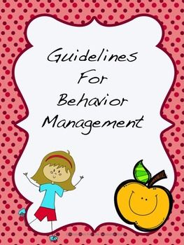 Back to School! Behavior Pr... by Resources for the Resource Room | Teachers Pay Teachers