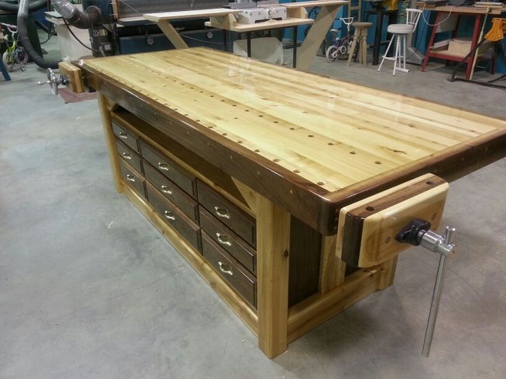 My new workbench is finally finished
