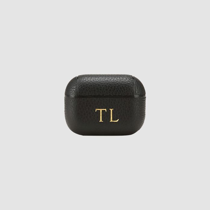 Black Pebbled Airpod Pro Case In 2020 Airpod Pro Leather Laptop