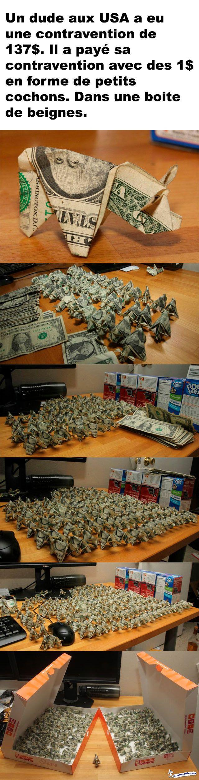 Payer sa contravention