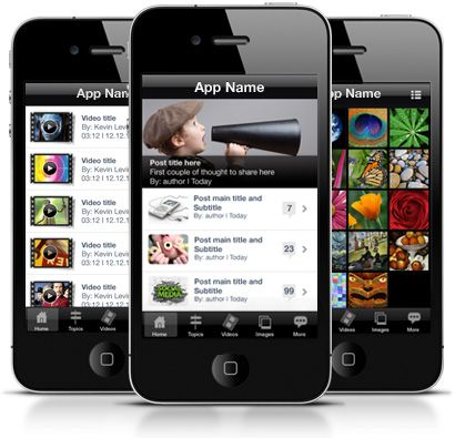 """Just """"plugin"""" and play!  WiziApp is a plugin that turns your WordPress blog into a native iPhone App. Imagine, your personal blog, can now be searched, found and downloaded through the App Store by avid fans worldwide!"""