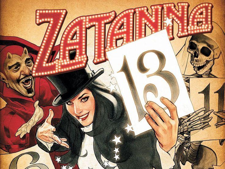 Zatanna DC Comics Artwork Fantasy Art High Heels Wallpapers HD
