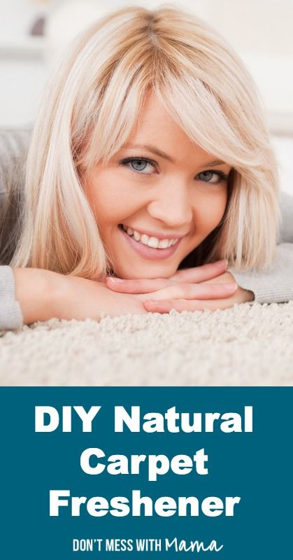 DIY Natural Carpet Freshener #DIY #home - DontMesswithMama.com