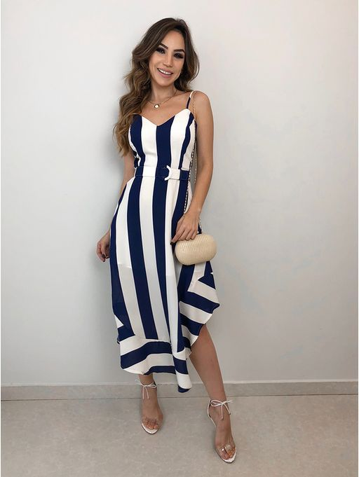 cd002671ed6 Vestido-Listras-Serena Ropa De Moda Mujer