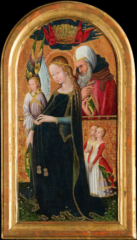 15th Century French, The Expectant Madonna with Saint Joseph (detail), 15th century, National Gallery of Art, Samuel H. Kress Collection