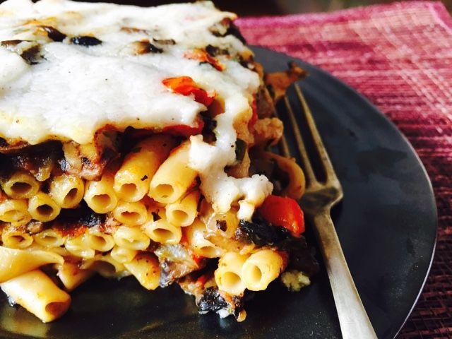 Gourmelita: Παστίτσιο με Μανιτάρια Πορτομπέλο