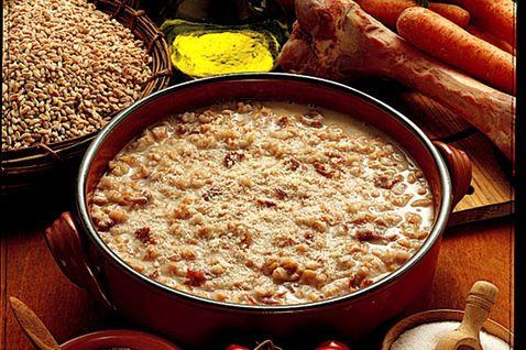 Minestra aquilana di farro - #Food Abruzzo