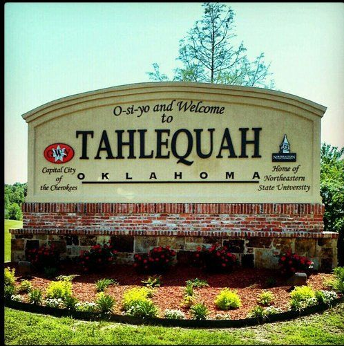 Seat of the Cherokee Nation.  California is home to about 20,000 Cherokees.  How much Cherokee by blood?  It's probably whats in your heart.  tahlequah oklahoma - Google Search