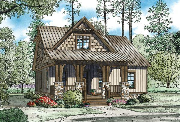 Angler Falls House Plan - 3021
