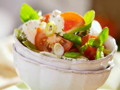 Salade met kruidige geitenkaas (Libelle Lekker!)