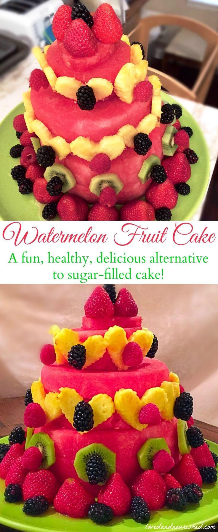Best 25 Fruit cake watermelon ideas on Pinterest Watermelon