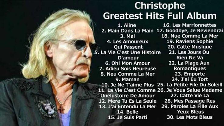 Christophe - Greatest hits full album |  Best songs of Christophe