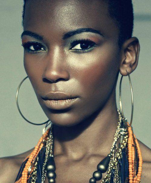 Photo credit: Kobus Snyman    Model: Melody Zulu: Snyman Models, Melody Zulu, Kobus Snyman, Makeup, Beautiful Black, Photos Credit, Hautboy, Black Beautiful, Black Girls