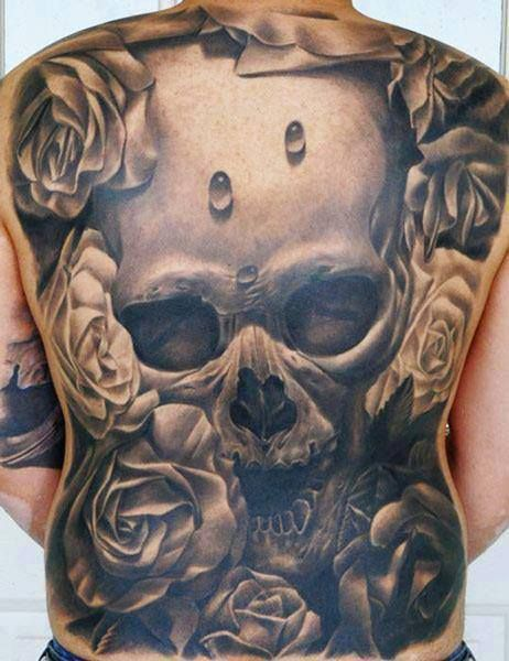 25 best ideas about back tattoos for guys on pinterest for Badass first tattoos