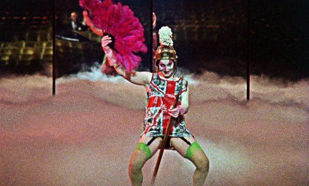 Jordan does her thing as Amyl Nitrate in 'JUBILEE' , 1978