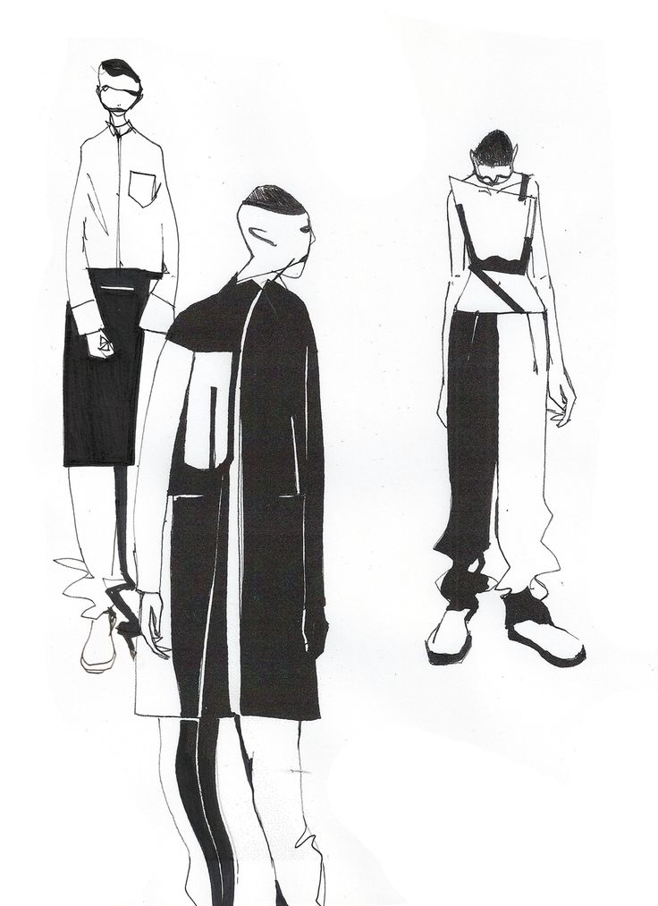 SCI-FI MEETS CÉLINE: MINKI CHENG PRESENTS HIS AW14 COLLECTION http://1granary.com/central-saint-martins-fashion/graduates/minki-3/ #csm #centralsaintmartins #1granary #sketch #sketches #sketchbook #illustration #minkicheng #scifi #celine #collection #design #fashion #fashiondesign