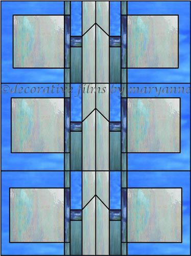 sga 1 decorative window film - Window Film Decorative
