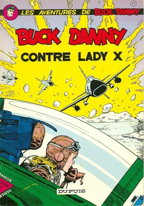 Buck Danny -17- Buck Danny contre Lady X - 1958