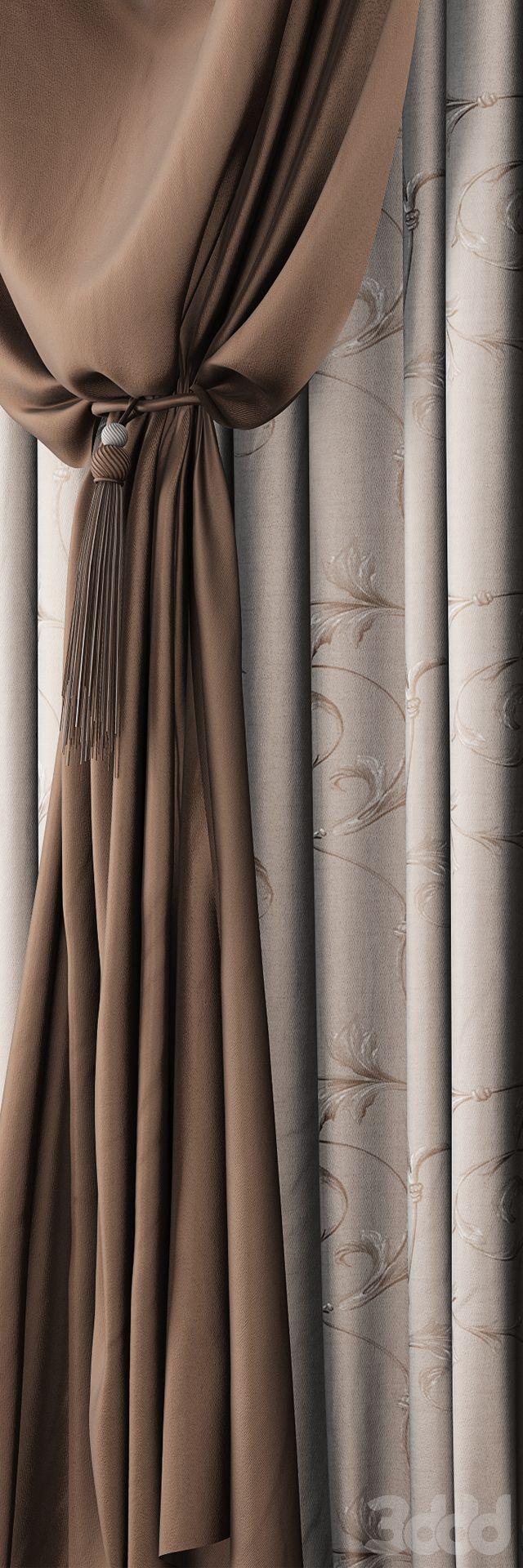 3d модели: Шторы - Curtain 82