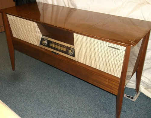 Vintage 60u0027s Radio Stereo Player Cabinet  McMichael | EBay | Vintage  Electronics | Pinterest | Record Cabinet, Consoles And Mid Century
