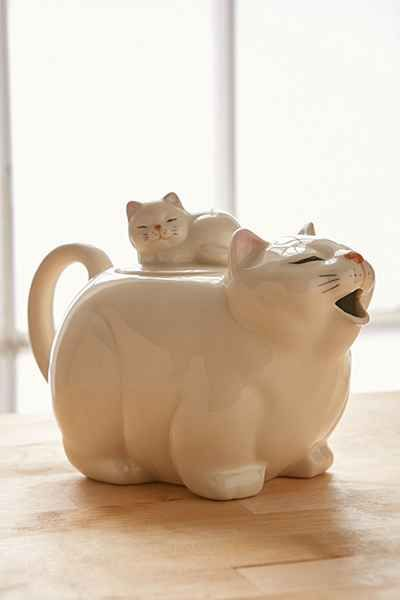 Big Cat Tea Pot - Urban Outfitters