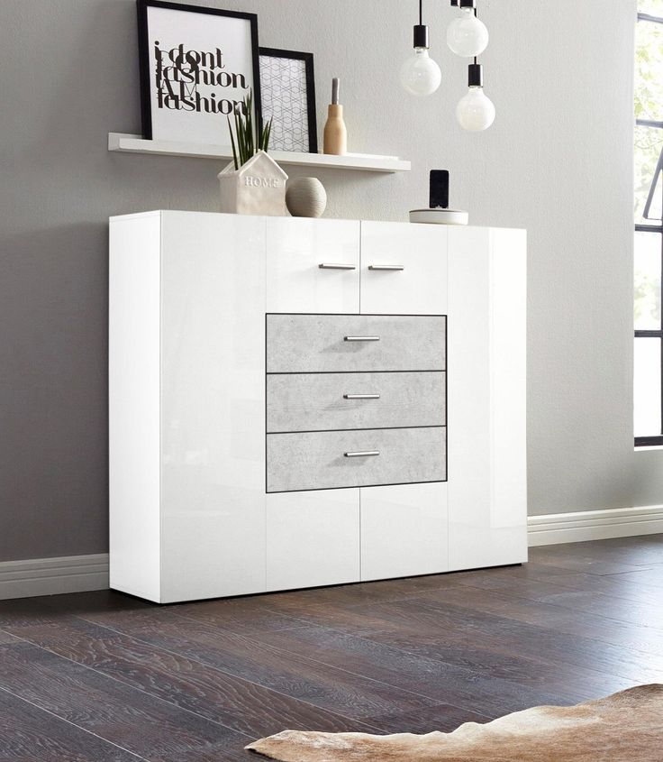 die besten 25 highboard wei ideen auf pinterest highboard ikea sideboard skandinavisch und. Black Bedroom Furniture Sets. Home Design Ideas