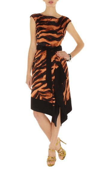 Karen Millen Zebra Tie Dye Print Dress Orange Multi Dn252 Sale Welcome to Karen Millen Dress Outlet online store. Our Karen Millen Outlet Dresses are on hot sale now witn authentic quality and cheap price. Floral Dress cute #womenfashion #ramirez701 #Flor