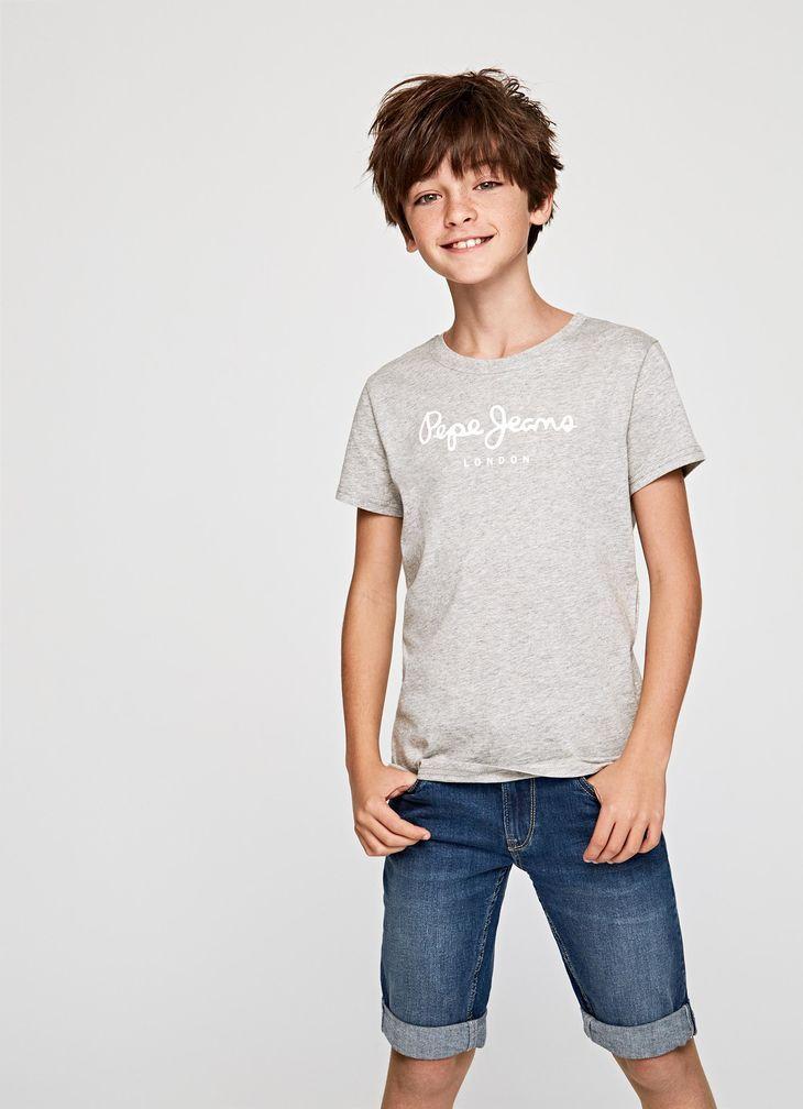 Art Basic T Shirt With Logo Boys Summer Fashion Kids Fashion Lookbook Boys Fashion Trends