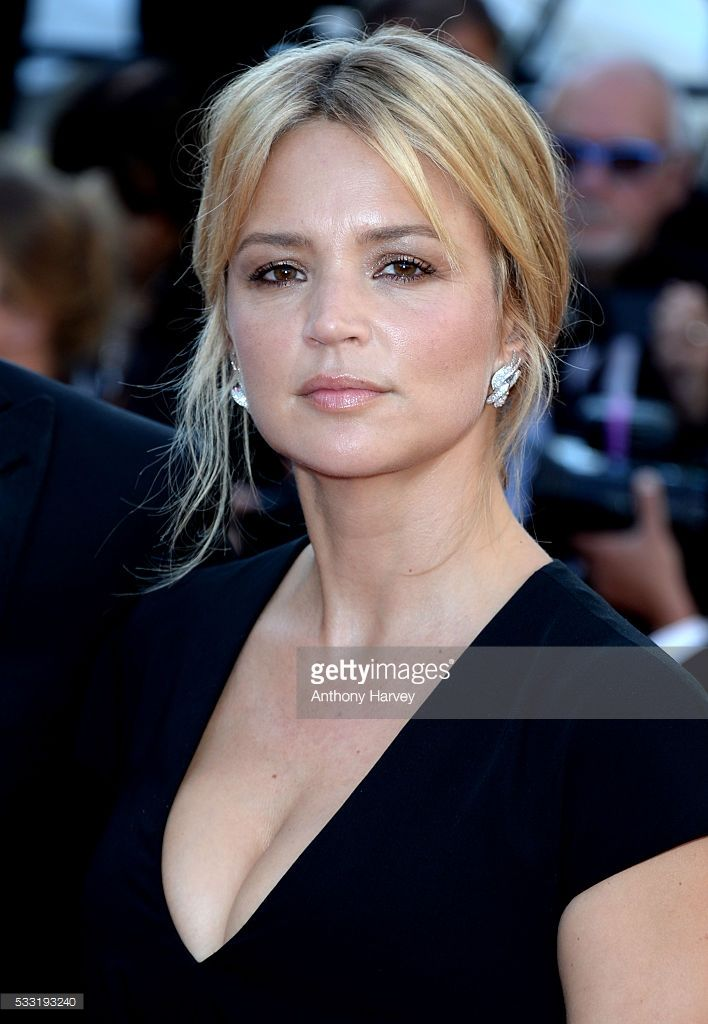 Virginie Efira attends the 'Elle' Premiere during the 69th annual Cannes Film Festival at the Palais des Festivals on May 21, 2016 in Cannes, France.
