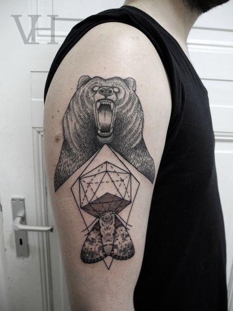 bearmoth by valentin hirsch