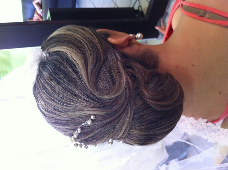 Peinado novia personalizado