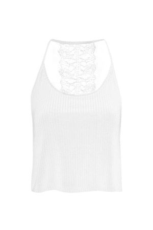 Topshop Lace Back Cami